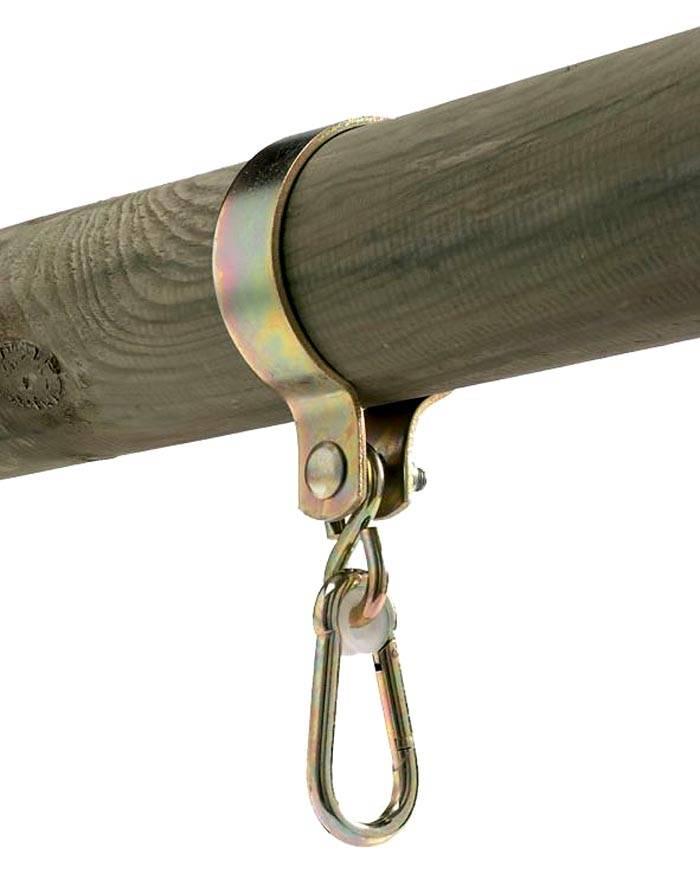 Специальный комплект фабричного производства с карабином для подсоединения подвеса из веревки, цепей